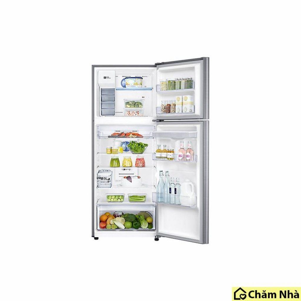 cách bố trí thực phẩm bên trong tủ lanh tiet kiem dien rt35k5982s8/Sv