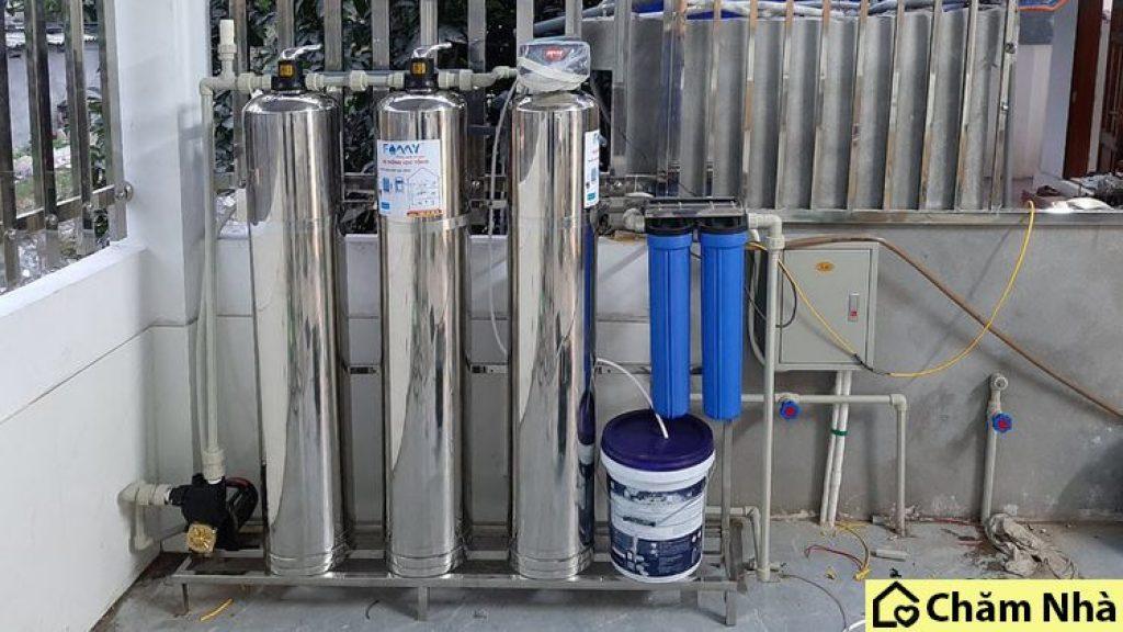 hệ thống xử lý nước thô đầu nguồn