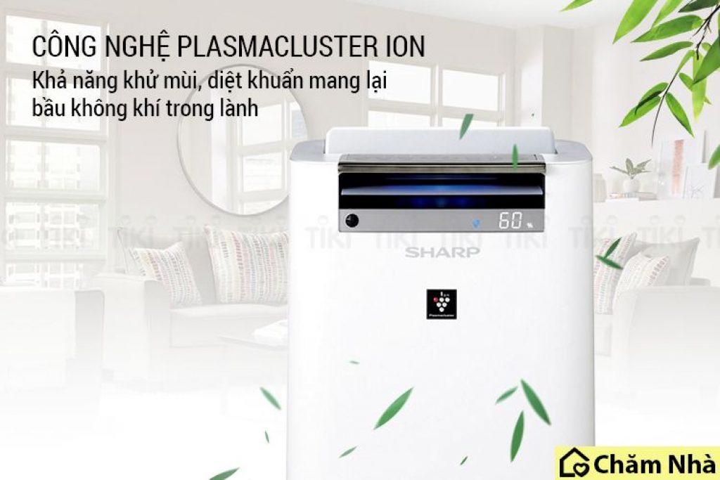 công nghệ plasmacluster ion cua máy kc g50ev w