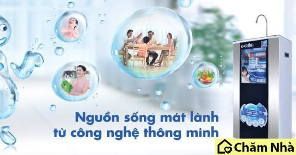 loi ich cua may loc nuoc gia dinh