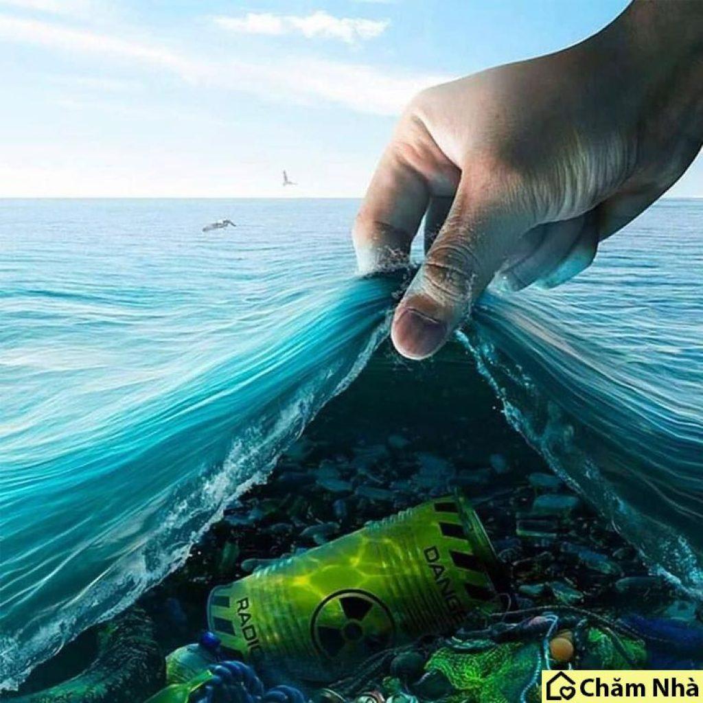 Nguồn nước biển bị ô nhiễm nặng nề
