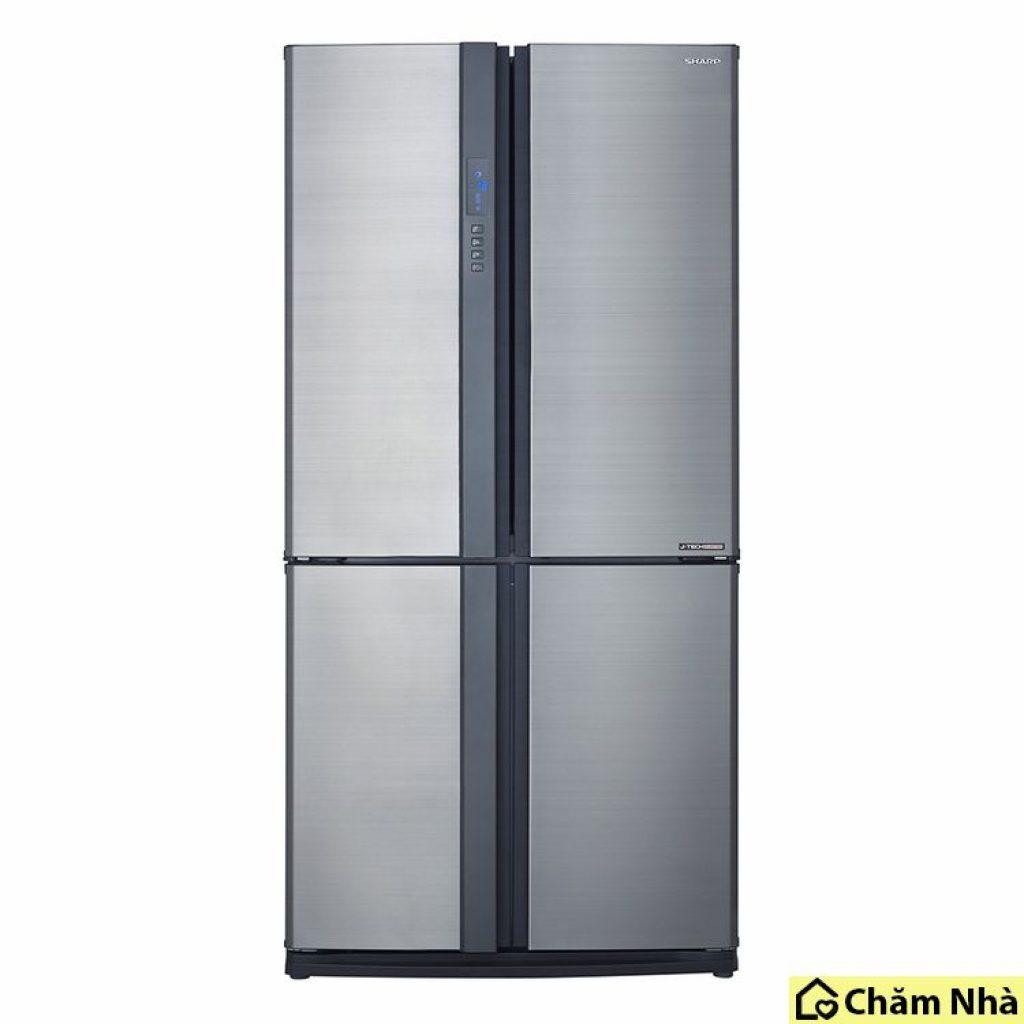 tủ Lạnh tiết kiệm điện sharp sj-fx631v sl