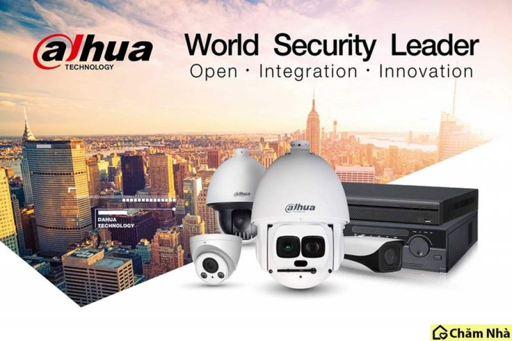 Camera Dahua tích hợp nhiều tiện ích thông minh