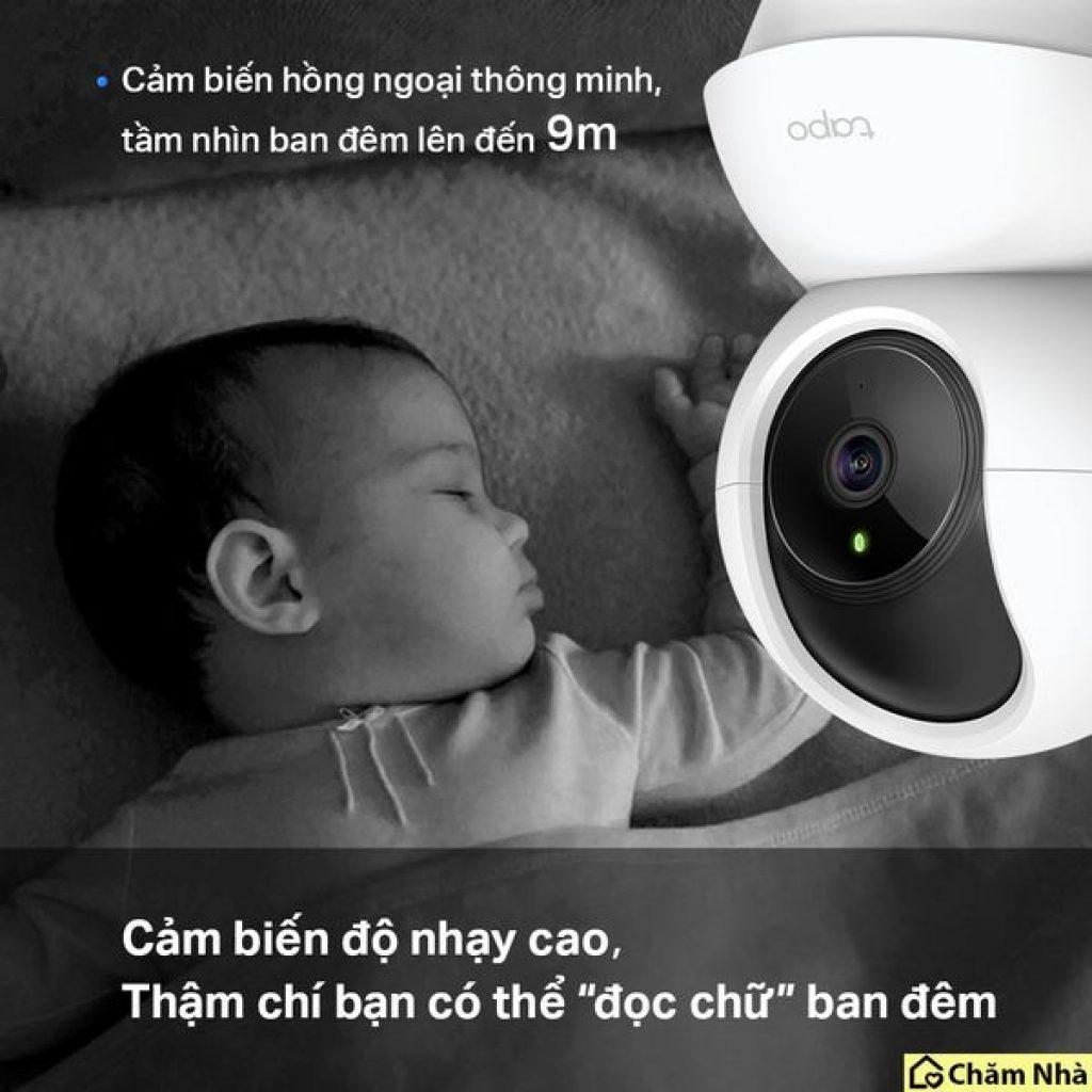 Camera an ninh IP Wifi TP-Link Tapo C200  tích hợp cảm biến hồng ngoại