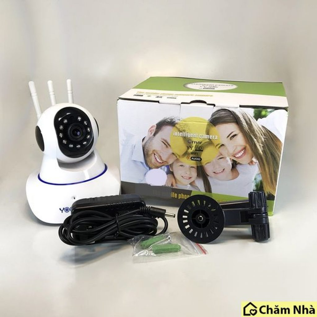 Camera giám sát Yoosee chuẩn 3 râu 11 LED Full HD  trọn bộ