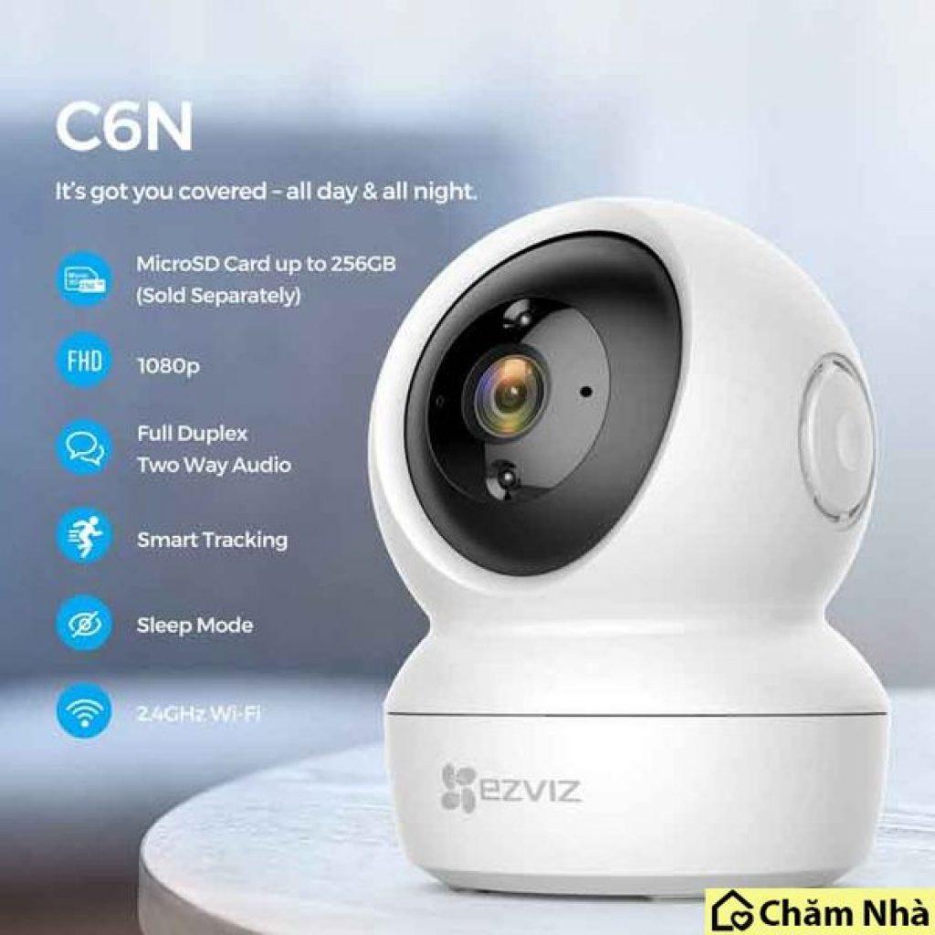 Đánh giá Camera an ninh EZVIZ C6N 1080P