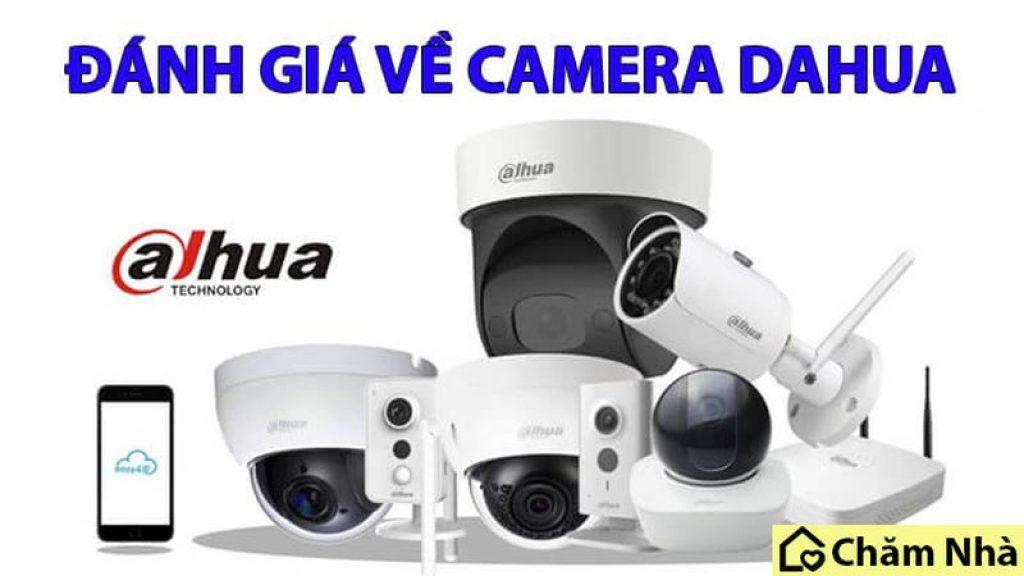 Camera Dahua nằm trong top đầu thương hiệu camera bán chạy hiện nay