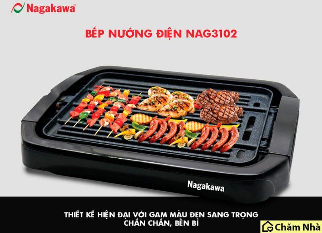 Đánh giá Bếp Nướng Điện 2 Mặt Nagakawa NAG3102