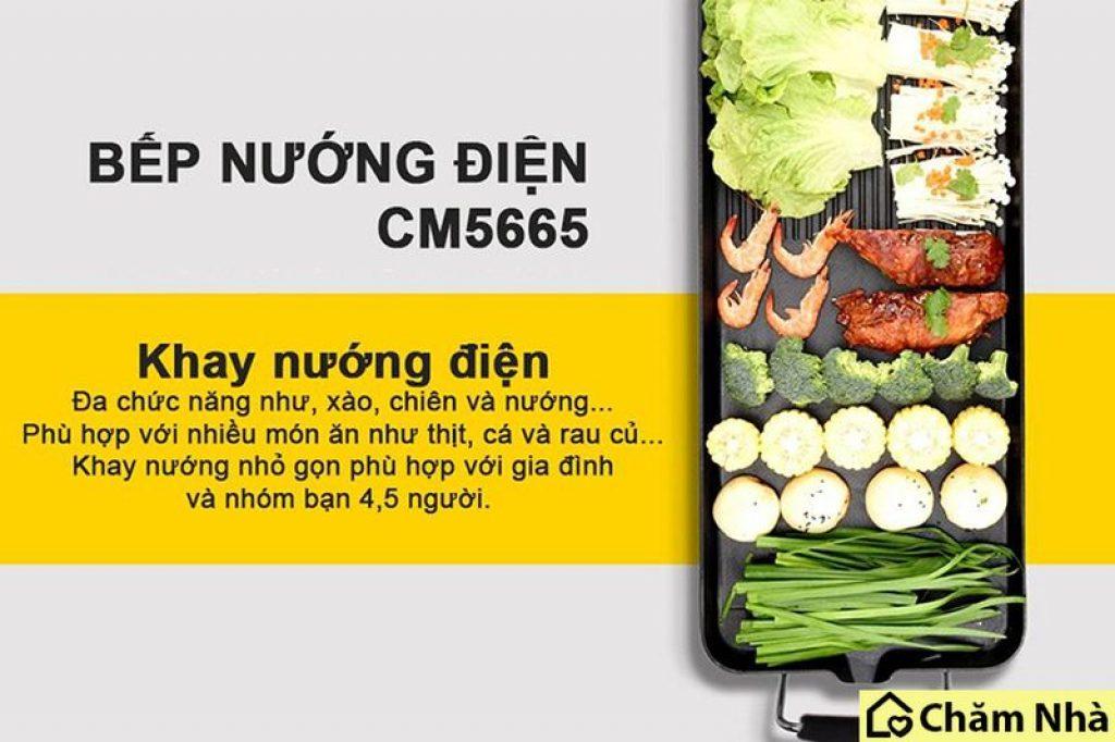 Đánh giá Bếp Nướng Điện Không Khói Comet CM5665