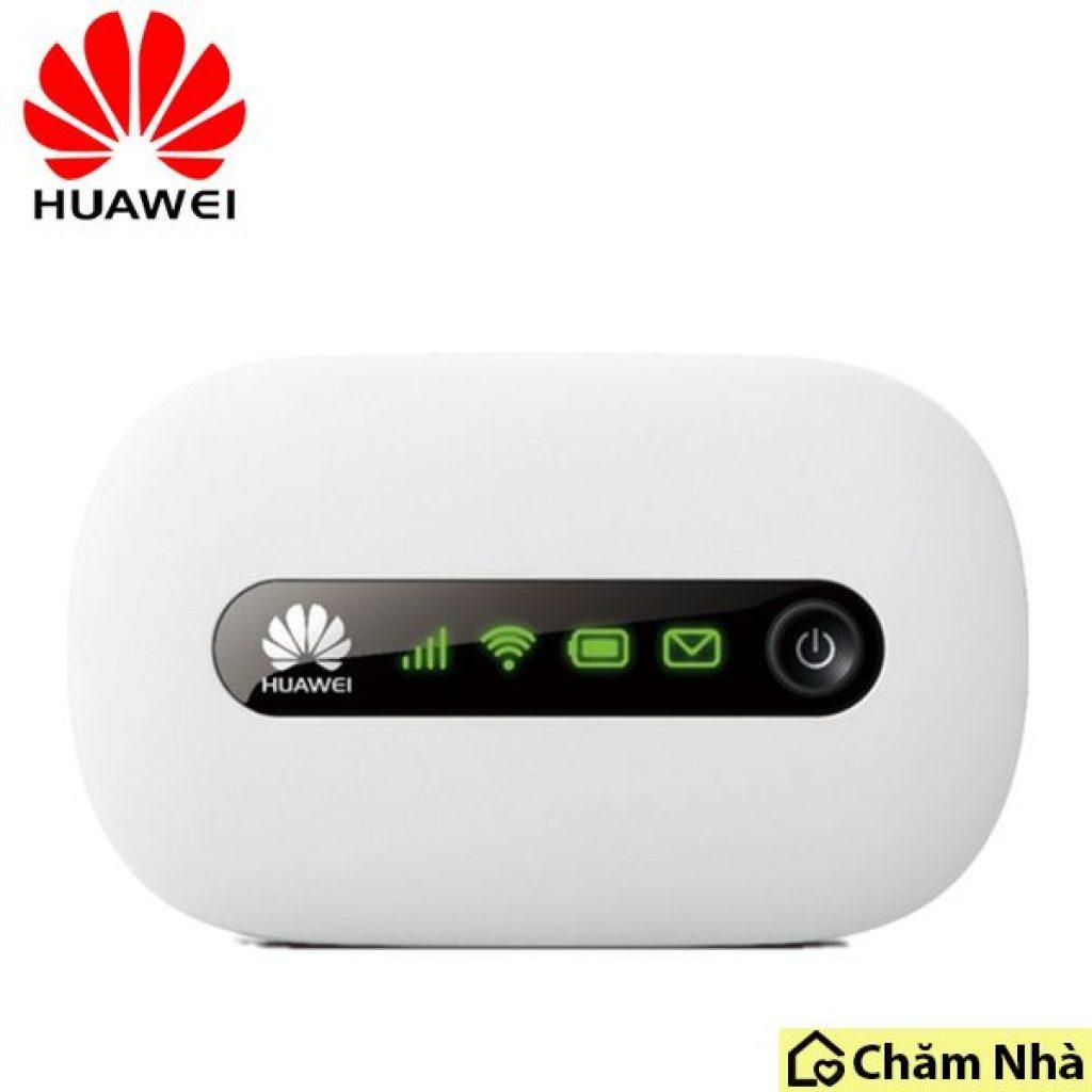 Thương hiệu bộ phát wifi di động Huawei có thiết kế nhỏ gọn và sang trọng