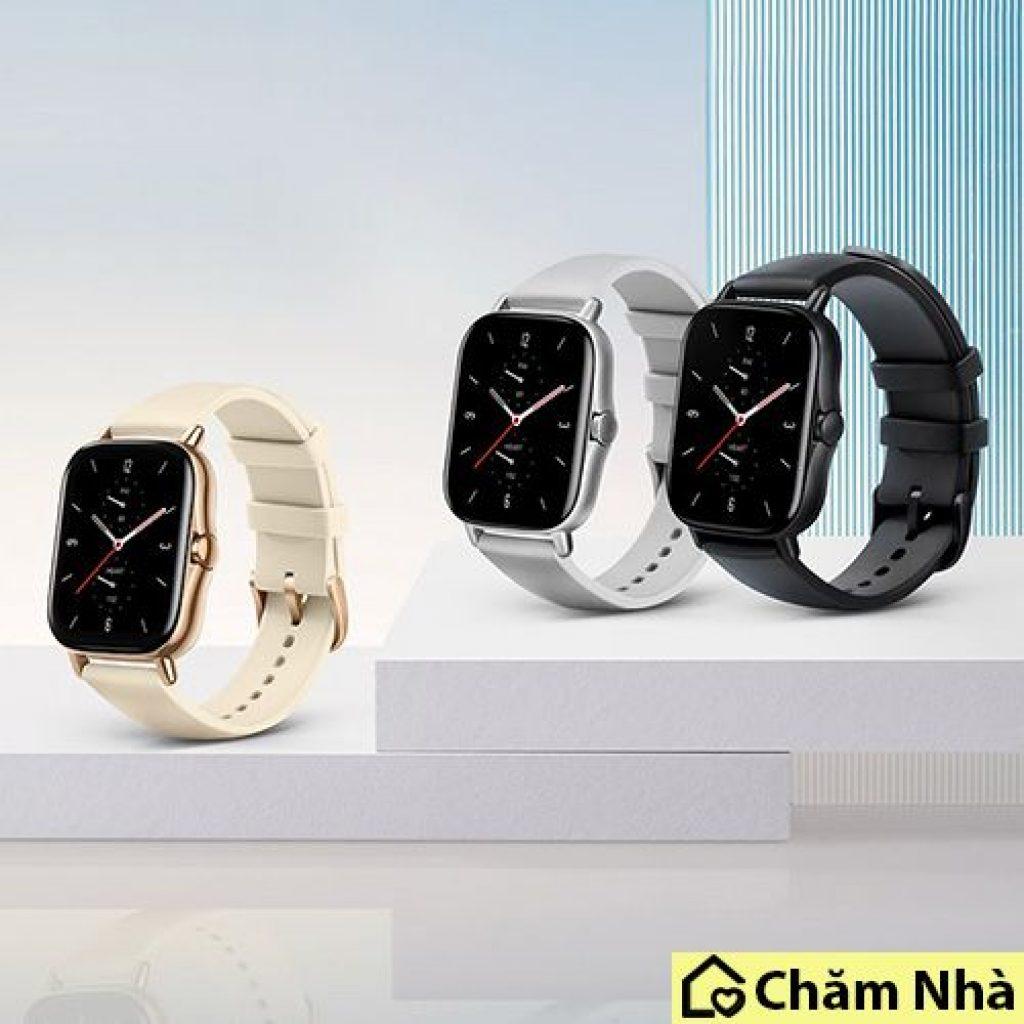 các bản màu sắc của đồng hồ thông minh huami amazfit gts2
