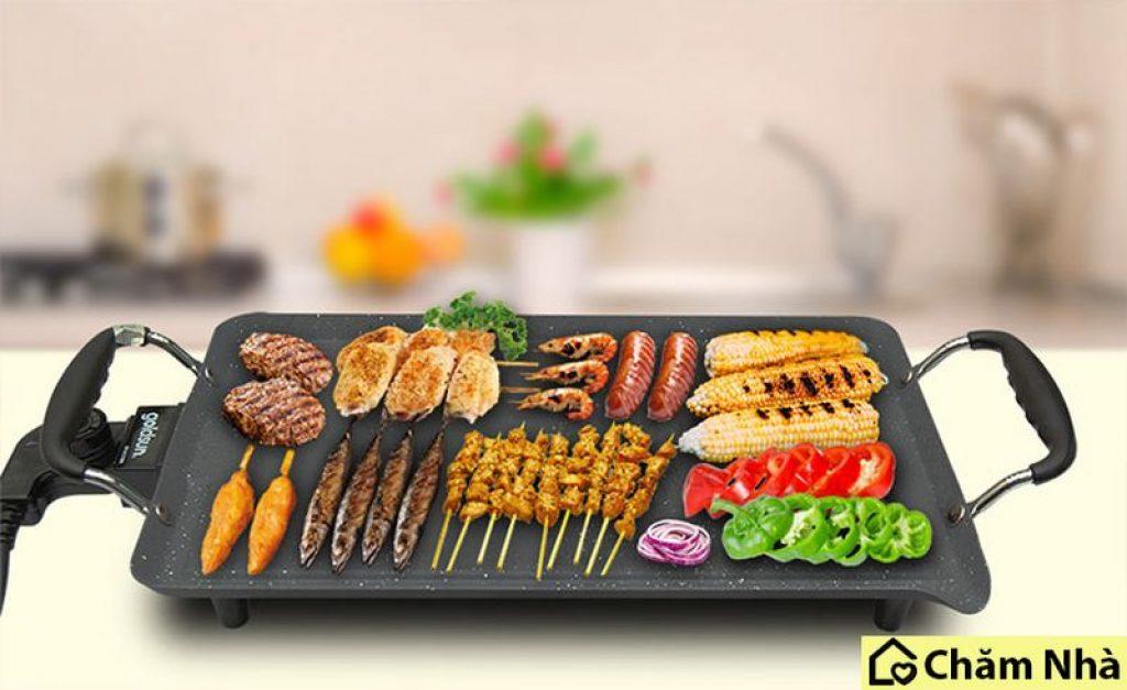 Bếp điện nướng có mặt phổ biến tại nhiều gia đình