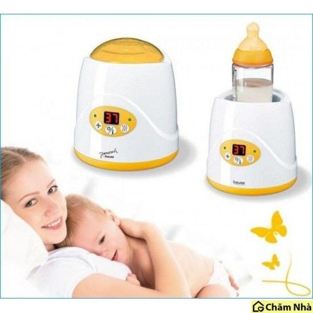 Máy hâm sữa mang lại nguồn sữa tươi, đáp ứng nhu cầu dinh dưỡng cho bé khi dùng