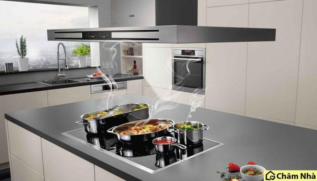 May hút mùi đảo là một thiết bị nhà bếp có chức năng làm sạch không khí trong nhà