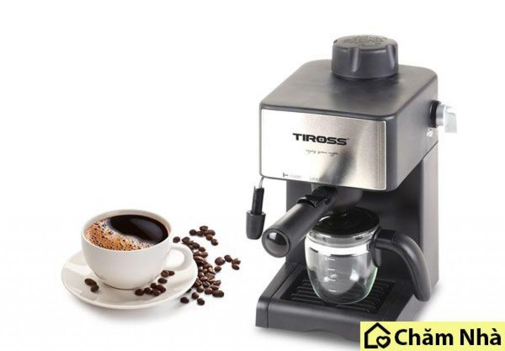 đánh giá máy pha cà phê tiross ts 621