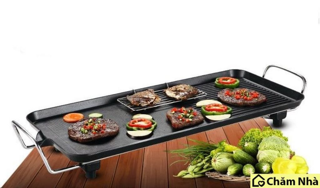 Bếp nướng điện có thiết kế bề mặt rộng rãi