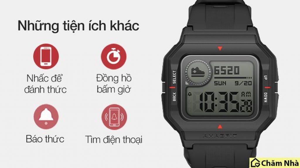 tính năng của đồng hồ thông minh huami amazfit neo
